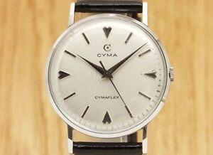 CYMA CYMAFLEX Cal.R.459 SS Round case Hand winding Overhauled watch