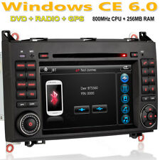 "Für Mercedes Benz B-Klasse W245 DVD HD Navigation GPS Autoradio 7"" SD 2 DIN USB"