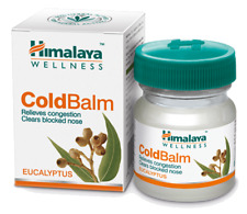 Himalaya Herbal Cold Balm for Nasal Chest Congestion body aches and Headaches
