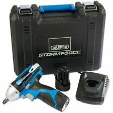 """DRAPER 78584 10.8V LITHIUM 3/8"""" CORDLESS IMPACT WRENCH 2 BATTERIES & CHARGER"""