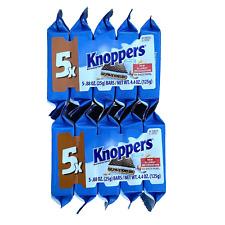 Storck Knoppers German Milk Hazelnut Chocolate Wafer 10 wafers (2 - 5 packs)