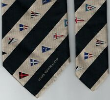 Louis Vuitton Cup Men's Tie - Nautical Theme Necktie - Vintage Louis Vuitton Tie