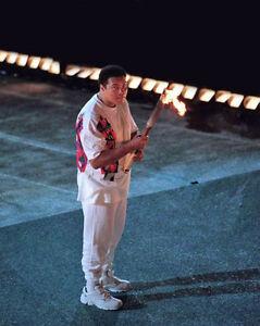 1996 Olympics MUHAMMAD ALI Glossy 8x10 Photo USA Print Poster Atlanta Torch
