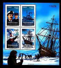 CHILE - CILE - BF - 1991 - Tradizione navale: 75° del salvataggio di Shackleton