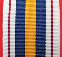 AUSTRALIAN NATIONAL POLICE SERVICE MEDAL RIBBON