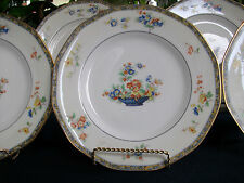 HAVILAND LIMOGES MONTREUX (c.1921+) DINNER PLATE(s)- TWO TONE! EXCELLENT! GILT!