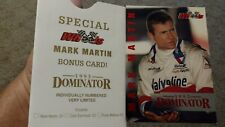"Mark Martin1993 WHEELS 4"" X 6"" BOXTOPPER BONUS Card #2642/3000 MADE #D1"