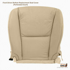 Driver Bottom Perforated Leather Tan Cover For 2006 07 08 09 10 2011 Lexus GS350