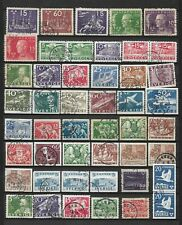 Sweden lot old big stamps