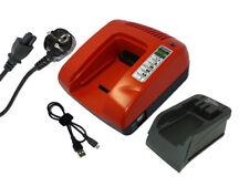 7.2-18v Caricabatteria per Black & Decker HP188F3B, HP188F3K, Rosso