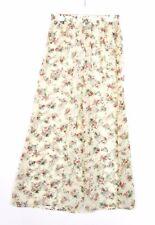 s.Oliver Women's Fashion Floral Print Chiffon Sheer Wide Leg Trousers sz M AZ74