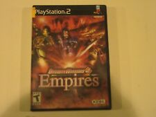 Dynasty Warriors 4: Empires (Sony PlayStation 2, 2004)