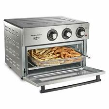 Hamilton Beach Air Fryer Convection Countertop Toaster Oven with Frying Baske...