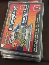 5x Unused Plasma Blast Pokemon Trading Card Game Online Code