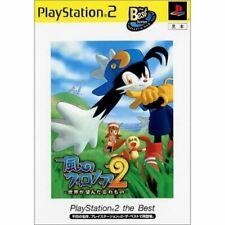 PS2 Klonoa 2: di Lunatea Velo Dal Giappone Gioco PLAYSTATION 2 Usato Morbido