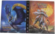 Pokemon Cards Album Book List 11pcs Sun & Moon Card Collectors Album Holder AU