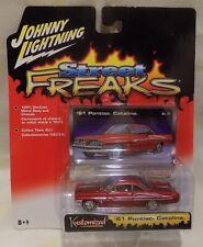 Johnny Lightning Street Freaks KUSTOMIZED 1961 PONTIAC CATALINA 1/64 Diecast