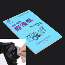 100PCS Phone Screen Camera Lens Glasses Cleaner Cleaning Kits Soft Paper Booklet