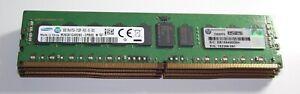 32gb kit 4 x 8gb PC4-2133 ECC Reg server RAM - HP 752368-081 - for HP G9 servers