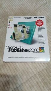 Microsoft Publisher 2000 & Money 2000 - In original packaging - never used