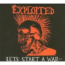 Exploited - Lets Start A War (Deluxe Digipak) [CD]