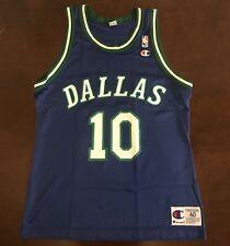 64e27d919c26 Rare Vintage Champion NBA Dallas Mavericks Sam Cassell Basketball Jersey