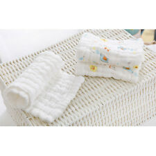 46 * 17CM 5 PCS 9-layer Gauze Cotton Diapers Washable Breathable Baby Diapers