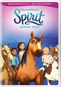 SPIRIT RIDING FREE: SEASON 5 -8 NEW DVD