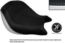 Vinilo Blanco y Negro Personalizado se ajusta a Honda VTX 1800 02-04 frente cubierta de asiento solamente