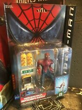 2002 Toy Biz Marvel Legends Web Swinging Spider-Man Movie Action Figure BNOC