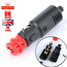 12V Car Cigarette Lighter Power Connector Cigaret Socket Adaptor Male Plug HA7