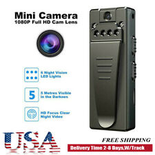 1080P Hd Video Dvr Ir Night Cam 8 hour Motion Camcorder Mini Police Body Camera
