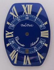 NEUF PAUL PICOT Firshire 3000  BLUE 0751.S CADRAN DIAL NOS NEW OLD STOCK