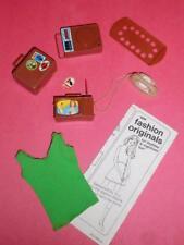 Vintage Barbie Busy Francie Doll Accessories