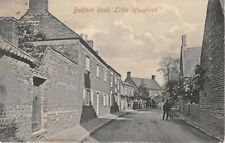 Northamptonshire  - LITTLE HOUGHTON, Bedford Road - used 1908