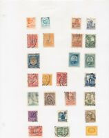 MEXICO 260 STAMPS ON STOCK SHEETS MOSTLY MINT WITH EARLY ISSUES TO MID-60s