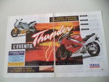 advertising Pubblicità 1996 MOTO YAMAHA YZF 1000 R THUNDER ACE