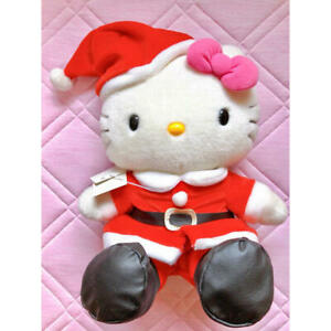 Limited Santa Kitty Plush Doll (Bottle not included)