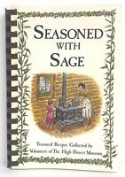 Seasoned With Sage Cookbook 248 Pages Recipes 1992 Volunteers High Desert Muse