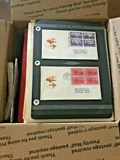 ESTATE ~~  US stamp lot, LARGE PRIORITY BOX FULL, unchecked for value, 11 3/4 lb