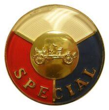 """1953 Buick Special Front Bumper """"Special"""" Emblem Insert"""