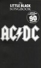 The Little Black Songbook: AC/DC Lyrics & Chords Sheet Music Instrumental Album