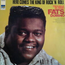 "Fats Domino Trouble In Mind (Hold Hands, Coquette) 1968 Sunset 12"" LP"