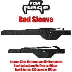 Fox Rage Voyager Camo Rod Sleeves 1,60m gefüttert Rutenfutteral 1,6m