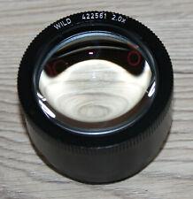 Leica/Wild Microscope Microscope Stereo Microscope Lens 2,0x (no 422561)