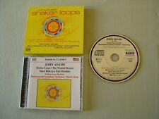 JOHN ADAMS Shaker Loops/The Wound-Dresser etc Nathan Gunn Marin Alsop CD album