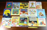 Lot 15 HBPB Picture Books about Starting PreSchool Kindergarten School Teach K10