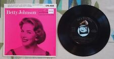 """Betty Johnson S/T 7"""" EP w PS Give Me Something 1957 VG+/VG+"""
