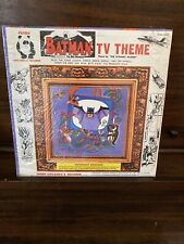 Batman TV Theme LP Record In Original Dust Jacket With Clear Plastic Seal