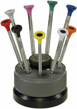 BERGEON 30081-S09 Rotating stand with 9 screwdrivers for Watchmakers swiss made